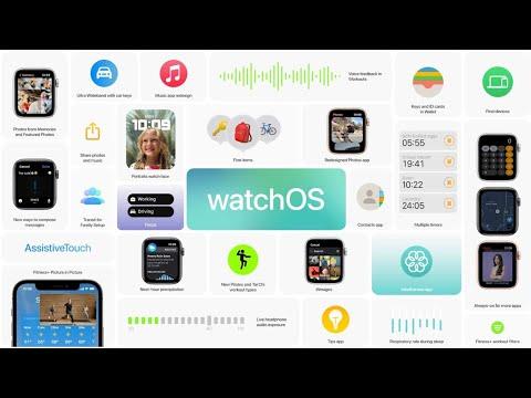 WatchOS 8 với nhiều tính năng thông minh. Luyện tập và mặt đồng hồ thêm cá nhân hoá.