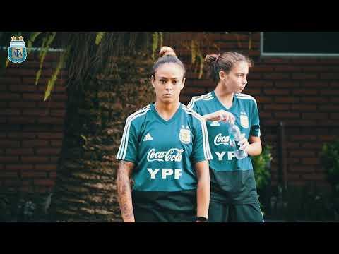 #SelecciónFemenina Sábado de doble turno en el Predio de Ezeiza