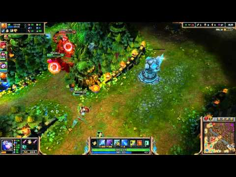 League of Legends Let's Play [1080p HD] - Ash Game #2 - Ep. 24