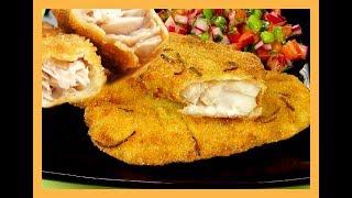 Como Fritar o Peixe Empanado sem Queimar a Gordura