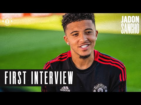 """Jadon Sancho: """"I wanted to be part of this club"""" 
