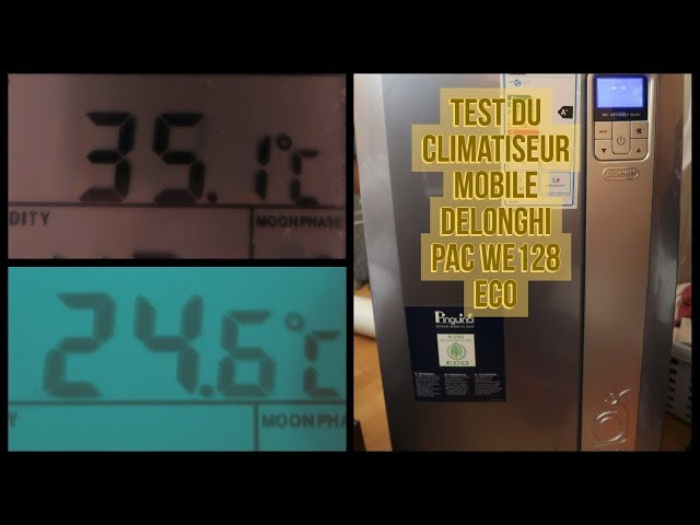 Test du Climatiseur mobile Delonghi PAC WE128 ECO