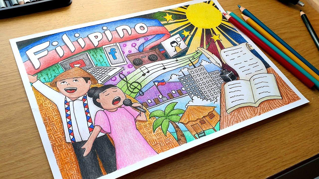 Poster making buwan ng wika