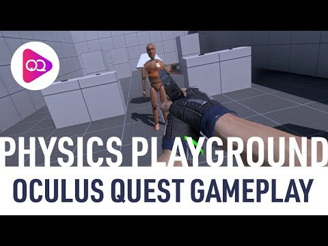 Physics Playground (SideQuest) - Oculus Quest Gameplay