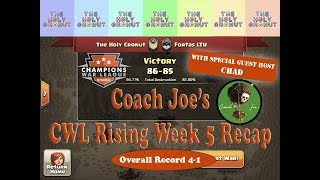 CWL Rising Season 4 Week 5 The Holy Cronut vs Fortas LTU Clash of Clans