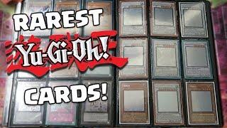 YUGIOH MY $3500+ RAREST CARDS COLLECTION BINDER!