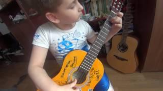 yesterday- beatles (мелодия на гитаре)