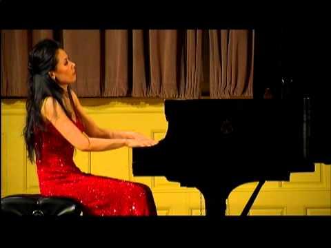 Ya-Fei Chuang plays 4 Schubert Moments musicaux and Wagner-Liszt Tannhäuser Overture, part 1