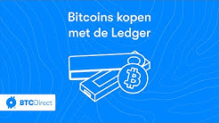 Bitcoins kopen met de Ledger hardware wallet | BTC Direct