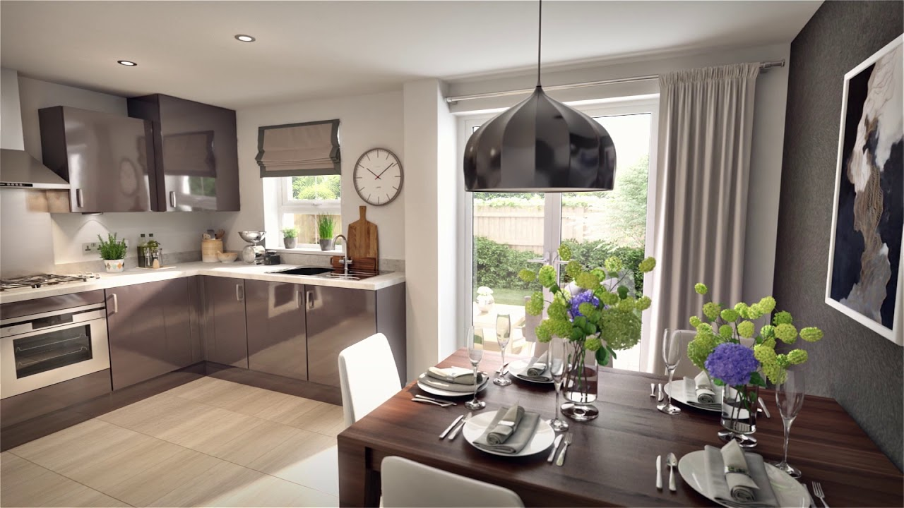 5 Homes That Prove That Less Is More: 3 Bedroom Family Home By Barratt Homes