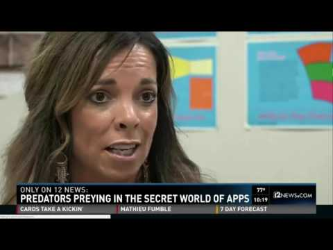 Katey Mcpherson Predators preying in the secret world of apps - channel 12 news