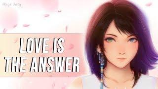 Nightcore - Love Is The Answer (Acoustic) | Lyrics