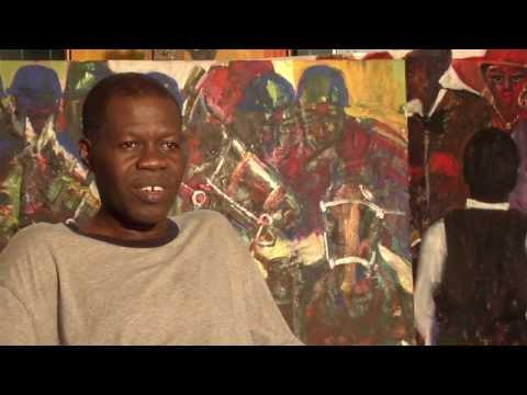 Larry Otoo - The Black Stars of Ghana - Art District