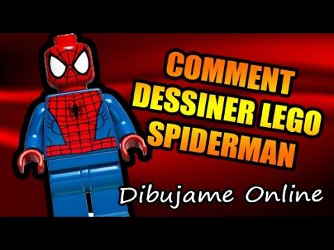 Comment dessiner lego spiderman comment dessiner lego spiderman etape par etape youtube - Dessiner spiderman ...