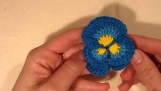 Приглашаю на вязание он-лайн цветочка