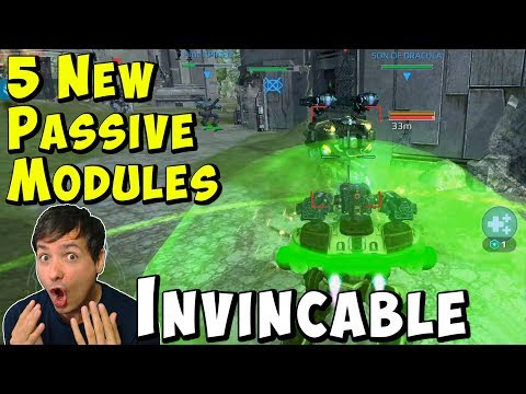 5 New PASSIVE Modules: War Robots Test Server Gameplay WR thumbnail