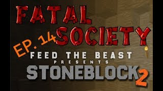 Stone block 2 Ep. 14 - Chickens + Easy Fluid Cow Breeding + Base Expansion