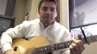 Long Black Train - Josh Turner (Beginner Guitar Lesson)
