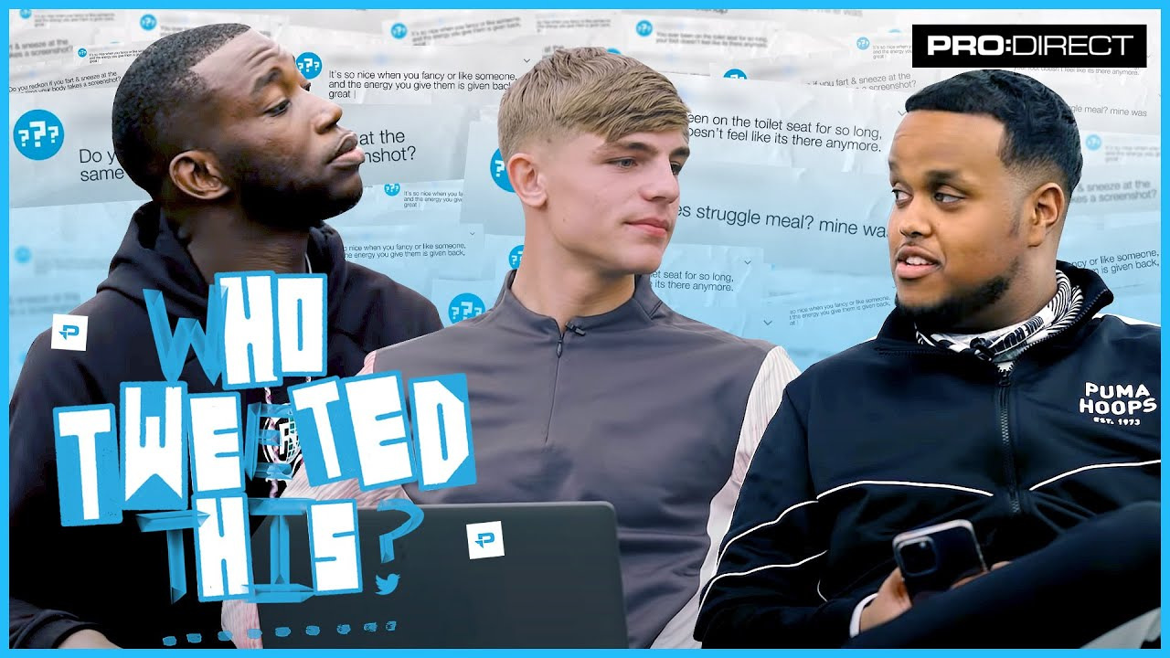 HARRY'S OLD TWEETS ARE WILD! BRANDON WILLIAMS CHUNKZ & HARRY PINERO PLAY WHO TWEETED THIS