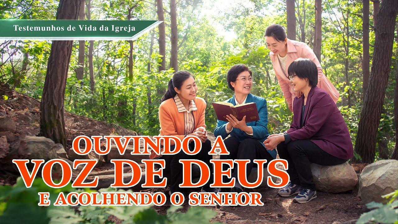 """Vídeo de testemunho evangélico """"Ouvindo a voz de Deus e acolhendo o Senhor"""""""