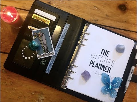 The Witches' Planner – Unboxing and Review