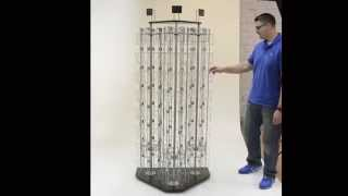 WLR3SBB Series - Spinning Wire Rack
