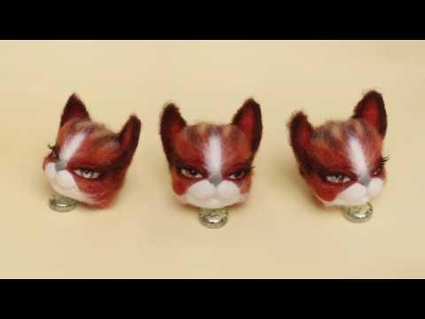 Делаем кошку на каркасе. Часть 1 голова.