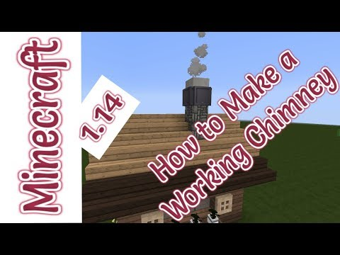 minecraft-1.14- -how-to-make-a-smoking-chimney