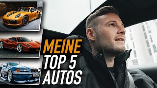 Meine TOP 5 Autos