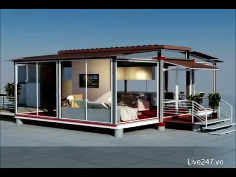 Mobile Home – Prefabricated home – EBS block – Hệ thống mở rộng khối tòa nhà