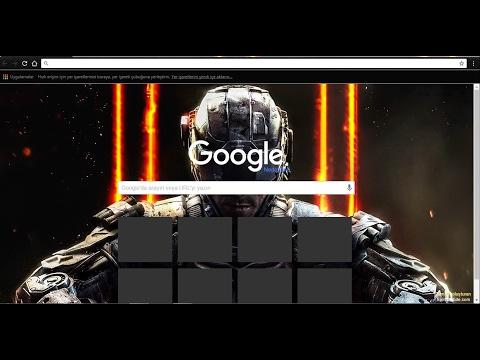 Google Arka Plan Değiştirme!!! Çok Kolay 2019