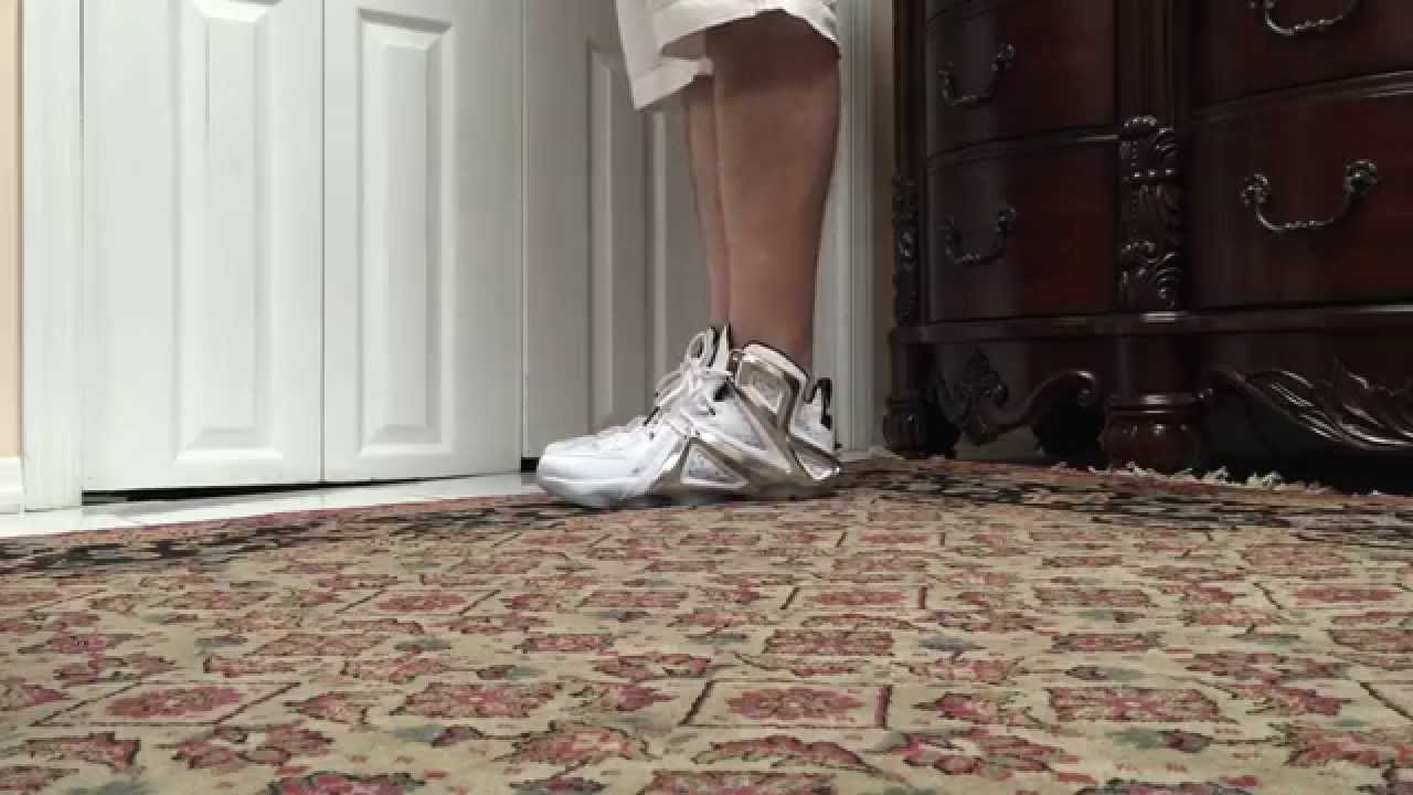 ca09437f9bf Nike Lab LeBron 12 XII Elite X Pigalle On Foot - YouTube