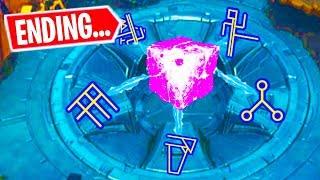 *NEW* FINAL RUNE EVENT ENDING LEAKED! (Cube Returns) Fortnite Season 8 Ending Leaked!