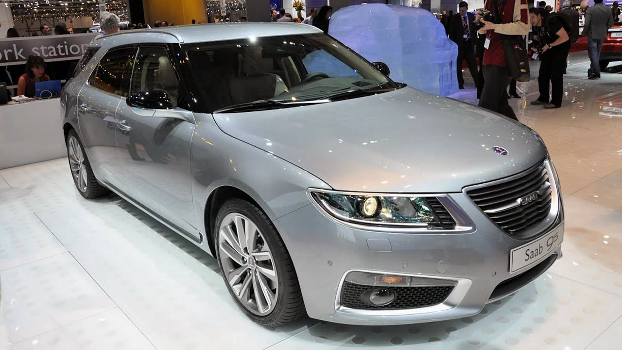 2012 Saab 9 5 SportCombi 2011 Geneva Auto Show