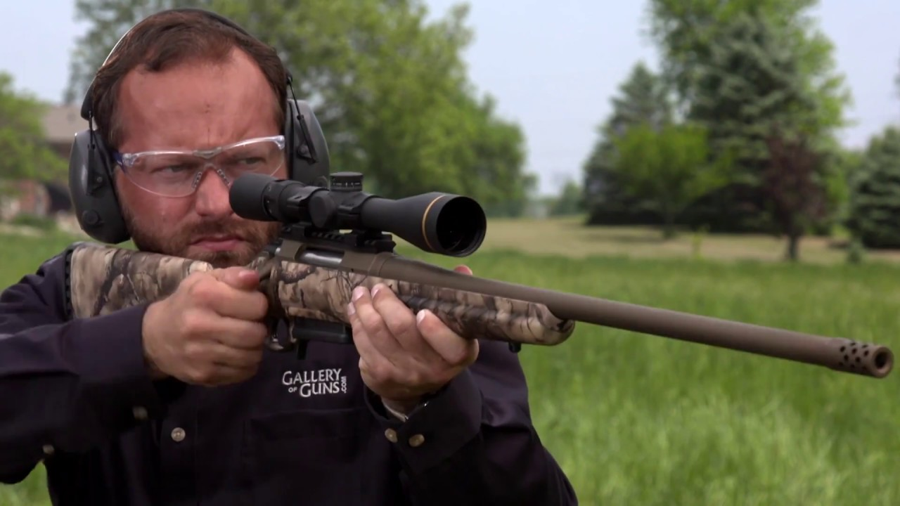 Gallery of Guns TV 2018 - Ruger American in Go Wild Camo