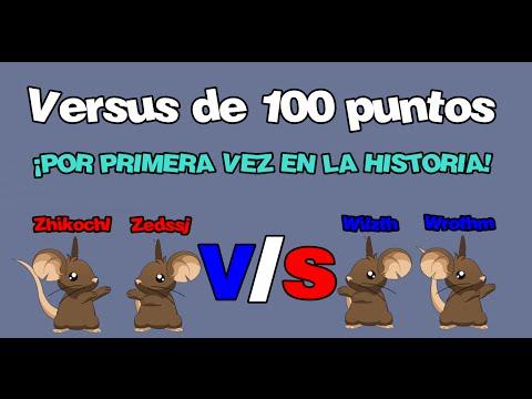¡Un versus a 100! - Zhikochl Zedaw V/S Wilzth Wrothm - Transformice
