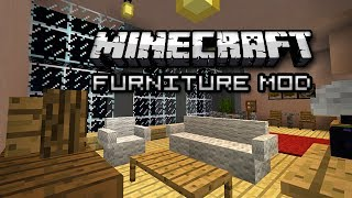 My New Condo in Minecraft! (Furniture Mod Showcase)