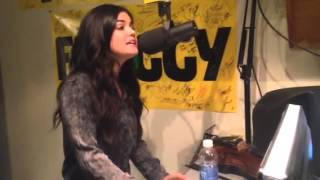 Lucy Hale sings one of her country songs