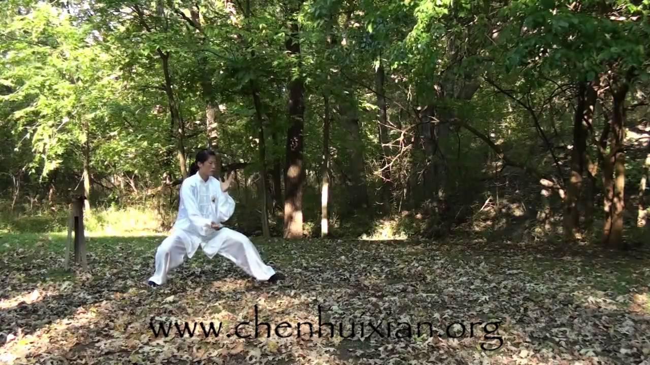 Chen Huixian - Chen Taijiquan 18-form - YouTube