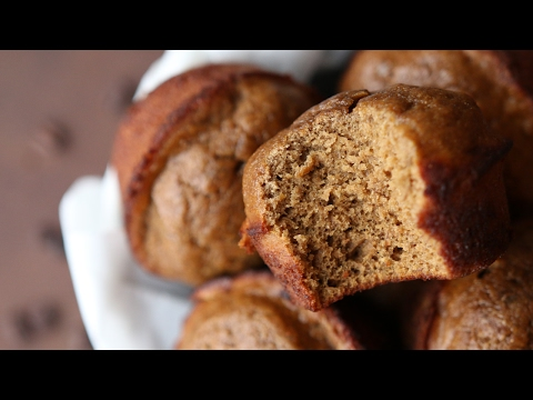 Healthy Breakfast Ideas | Low Calorie Espresso Banana Protein Muffin Recipe For Weight Loss
