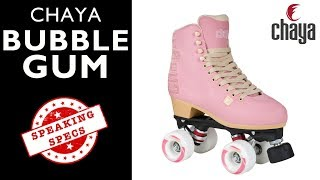 Chaya Bubble Gum Lifestyle Roller Skate - CHAYA SPEAKING SPECS