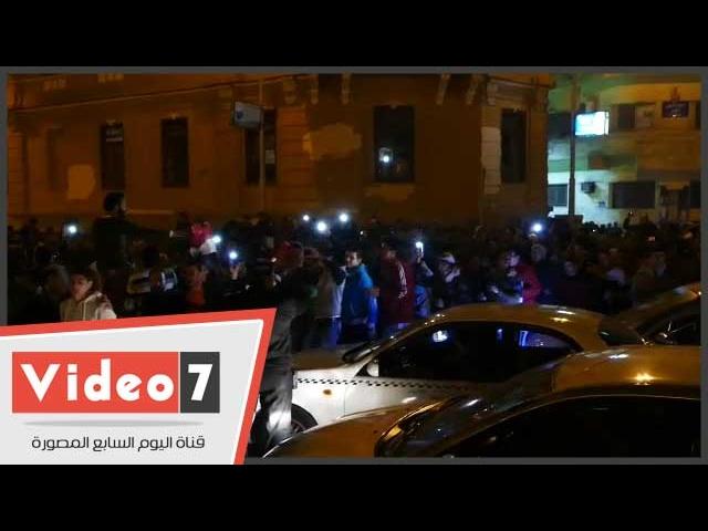 احتفالات صاخبة للجماهير بشوارع وسط البلد احتفالا بتأهل الفراعنة لنهائى افريقيا