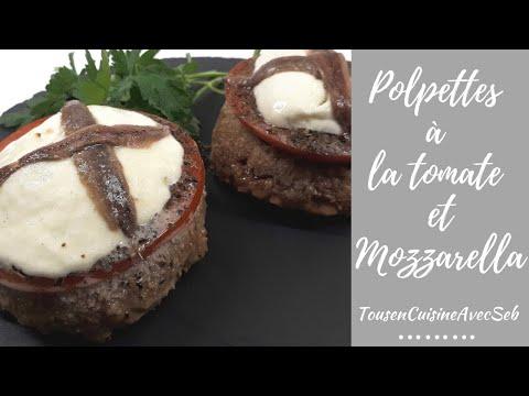 recette-de-polpettes-à-la-tomate-et-mozzarella-(tousencuisineavecseb)