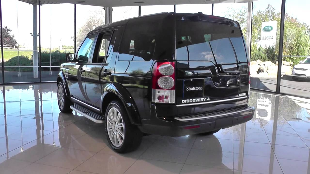 Land Rover Discovery 4 Diesel Special Edition 2012my Sdv6