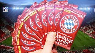 FC Bayern München 10 Booster auspacken | Trading Card Game 2018