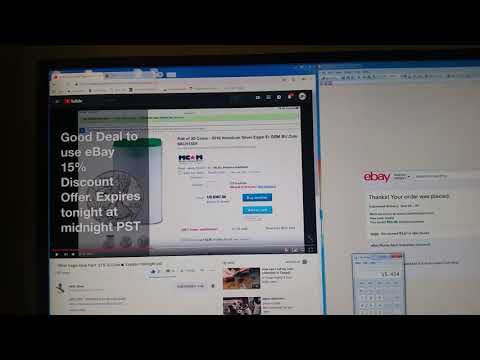 EBay 15% Coupon Deal Alert -**expired**