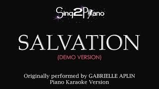 Salvation (Piano Karaoke Demo) Gabrielle Aplin