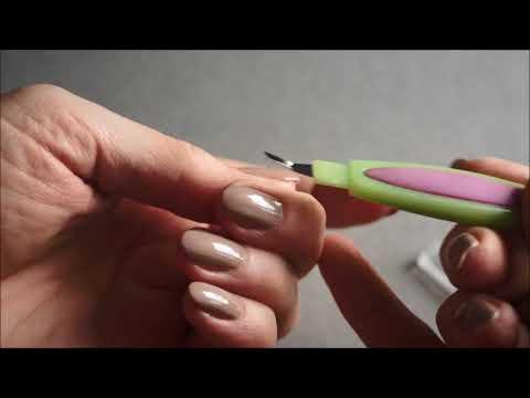 Как пользоваться триммер для ногтей
