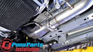 Making the 2015-2019 Mustang GT Sound Nasty with Corsa Long Tube Headers & Cat Back!