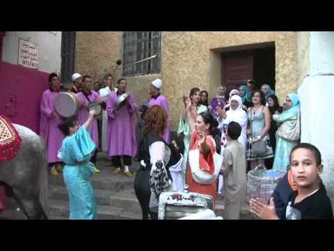 Ceremony in Meknes, Morocco